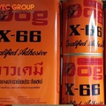 Keo dán con chó X-66